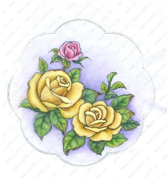 3d和手绘陶瓷盘子设计图-设计案例