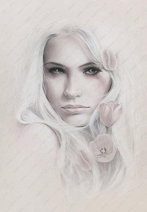 唯美人物肖像