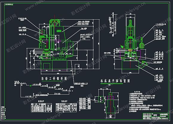 px6110镗床电路图