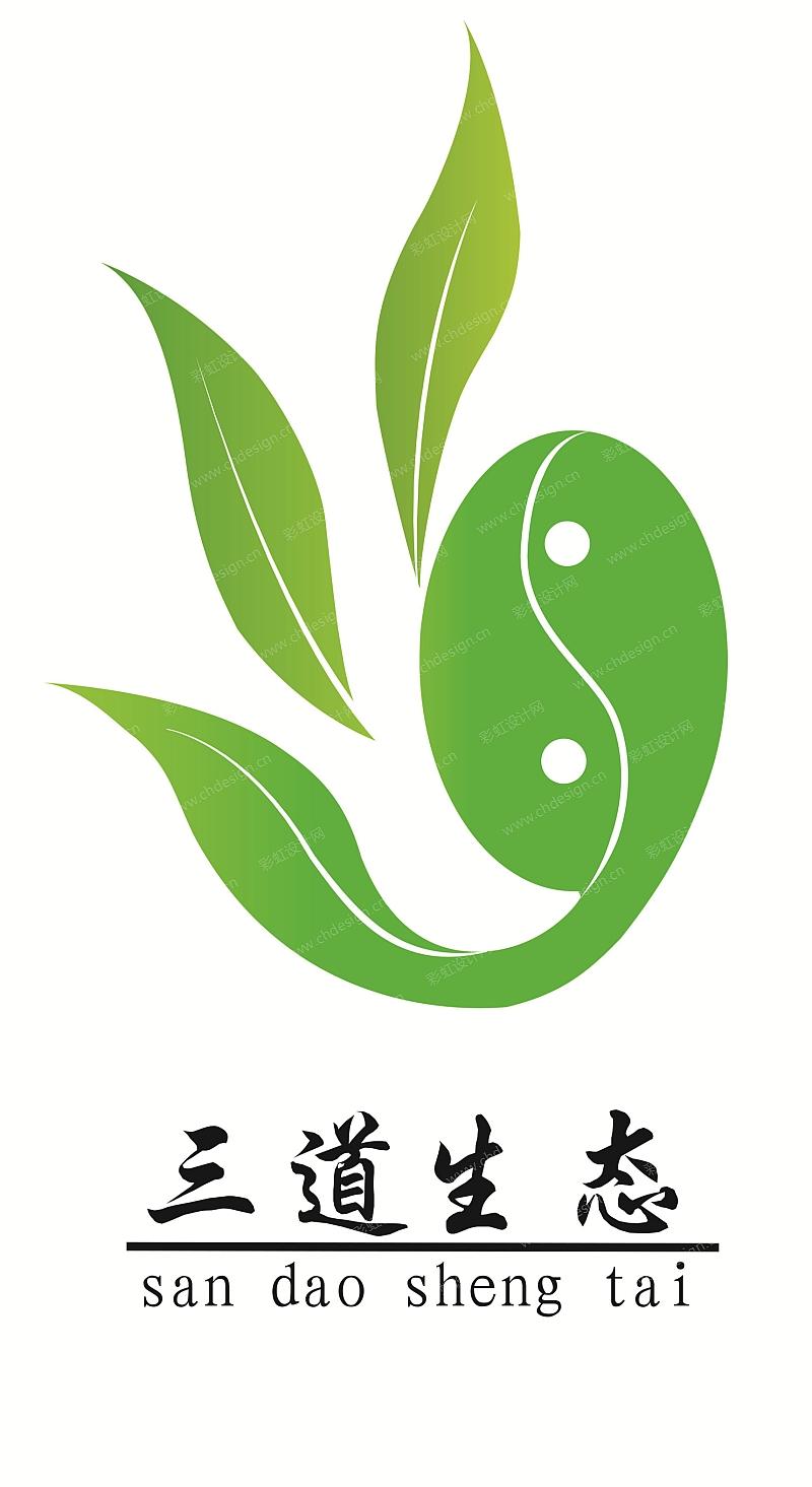 """""""三道生态""""品牌logo设计"""