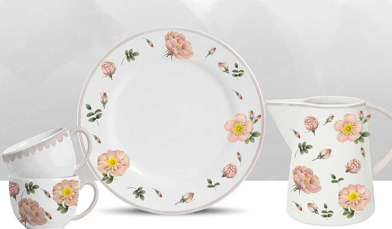 陶瓷餐具设计作品