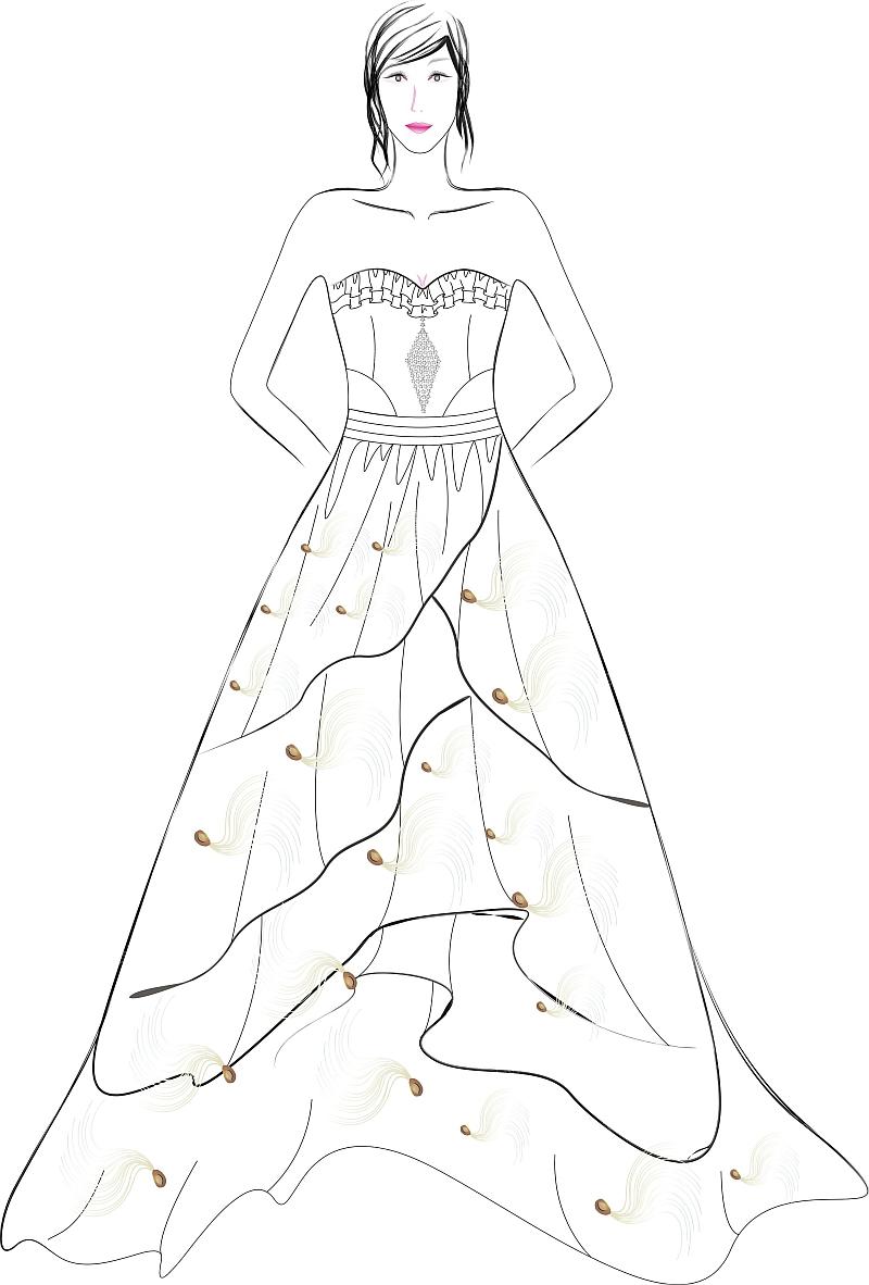 服装设计 裙子
