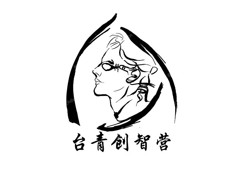 手绘团队标志logo设计