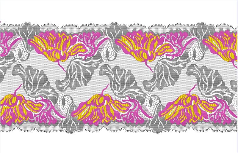 设计案例 家纺设计 服装设计 花型设计系列 纺织提花布图案