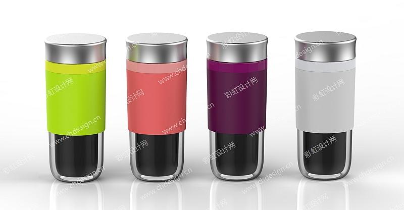 水瓶保温杯外观设计