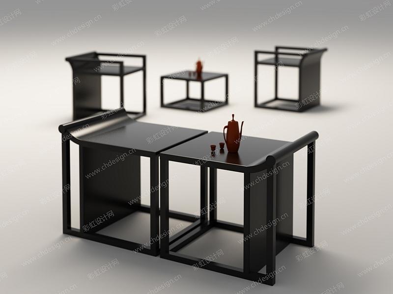 新中式家具设计-设计案例