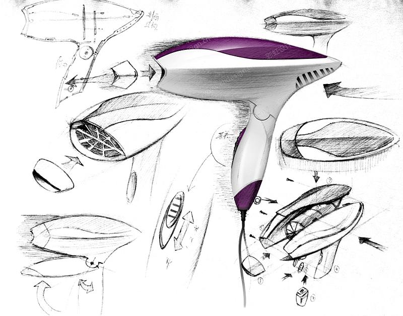 工业设计产品设计 吹风机