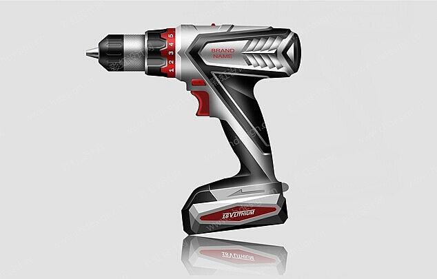 工业设计产品设计 手电钻设计案例图片