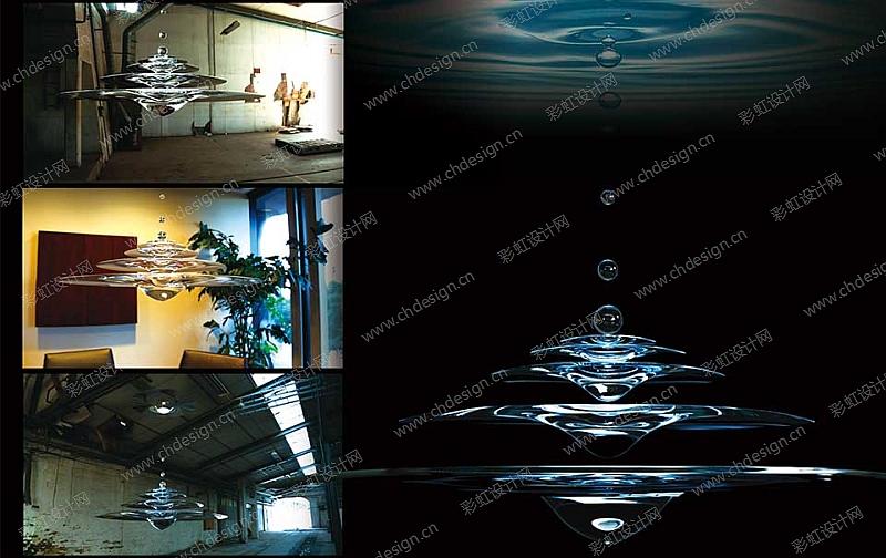 设计案例 工艺品设计 家具设计 创意灯饰-goccia  已生产上市