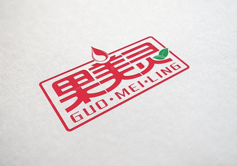果美灵logo设计(农资产品系列logo)