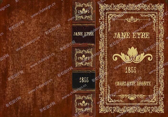 木制欧式复古书盒