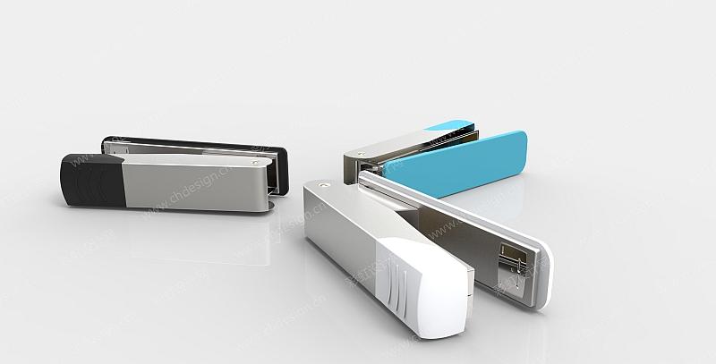 彩虹设计网 设计案例 工业设计 订书机