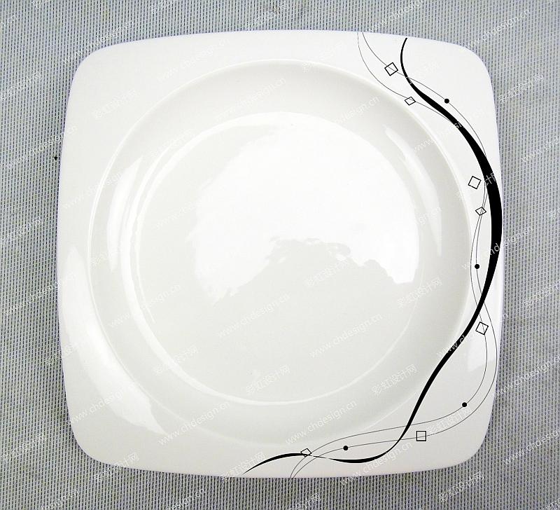陶瓷线条图案设计-设计案例_彩虹设计网