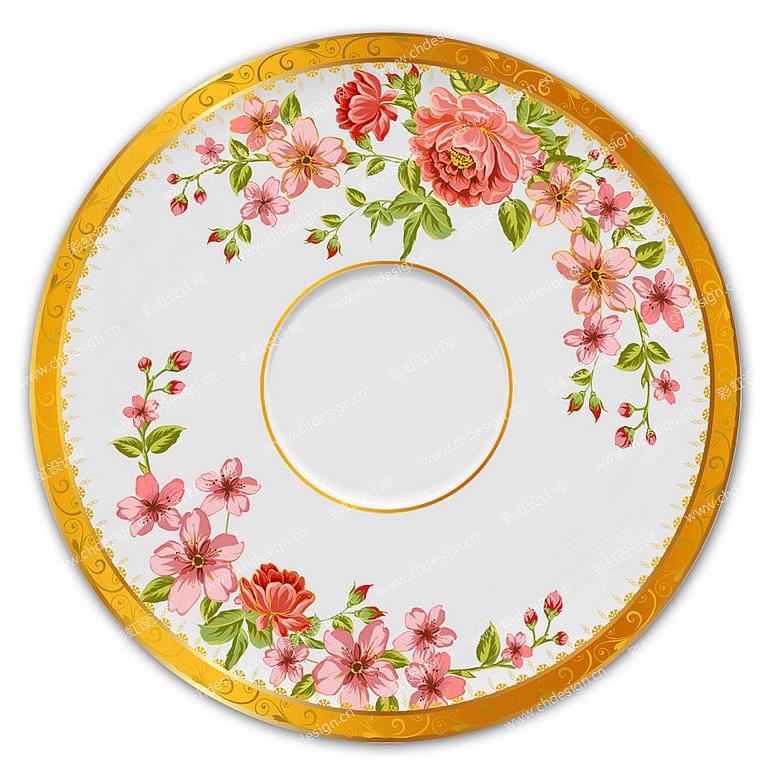 盘子创意图案设计
