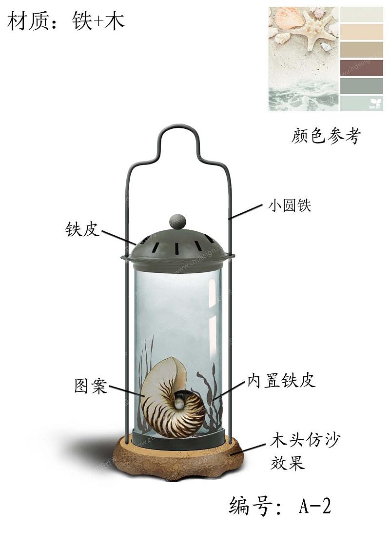 铁木工艺品设计-设计案例