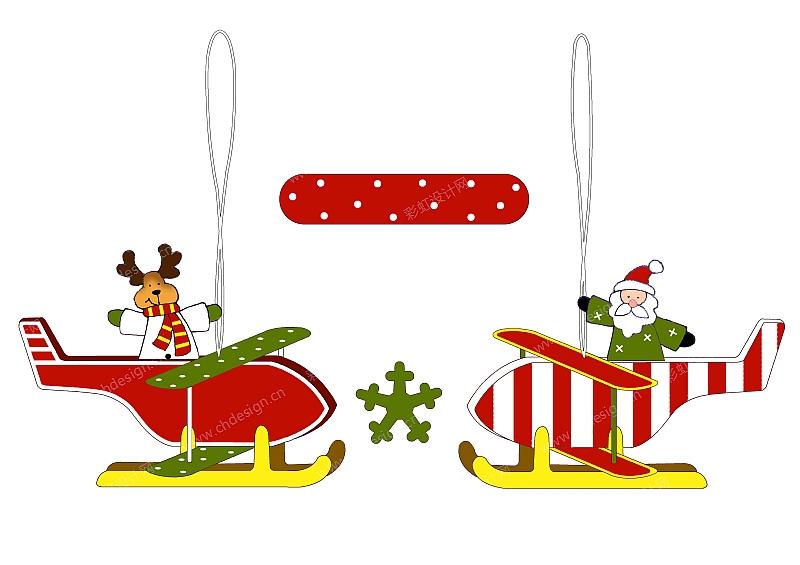 圣诞节日小挂件设计-设计案例