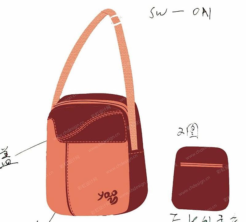 男士手包设计图纸-二层别墅设计图纸
