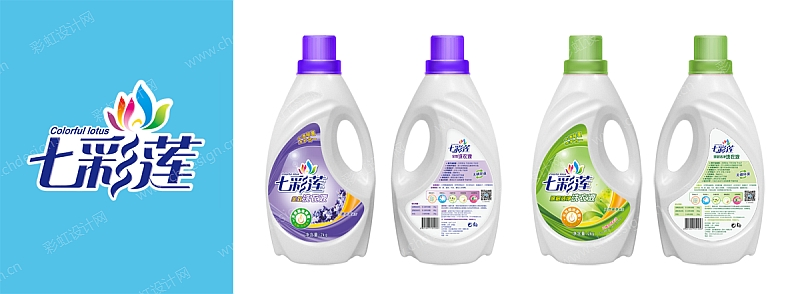 洗衣液logo包装