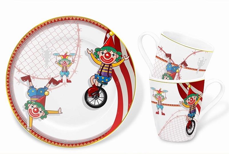 马戏团-小丑-设计案例_彩虹设计网