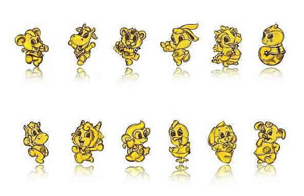 十二生肖动物形象设计