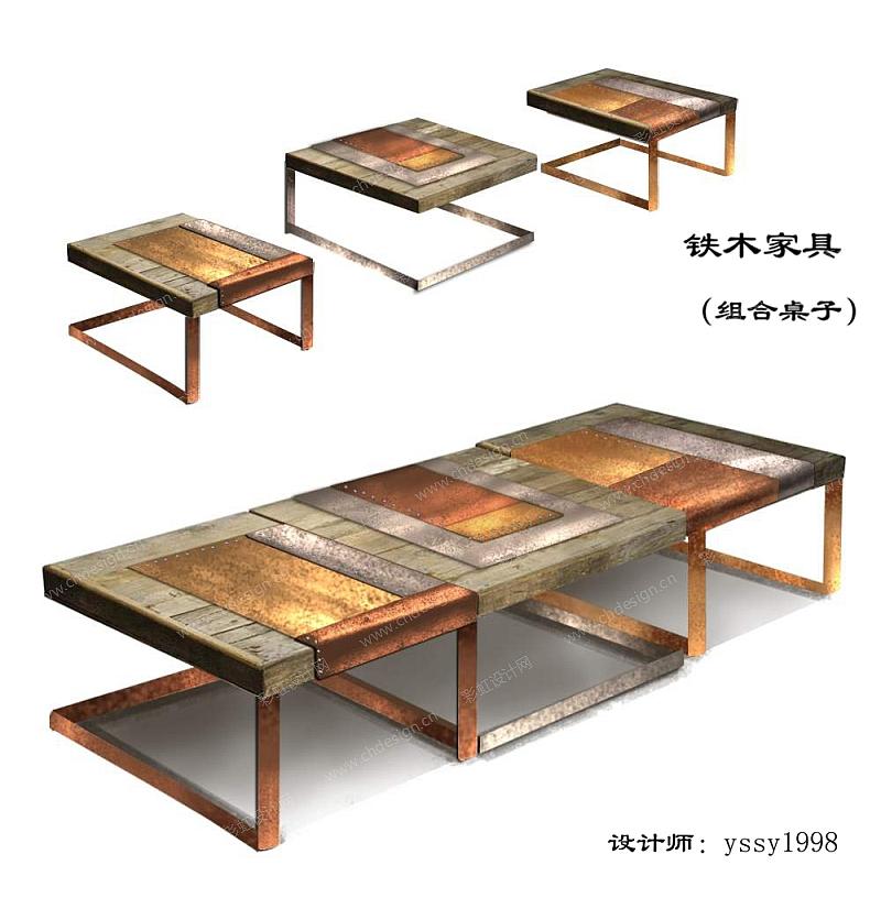 桌子安装步骤图
