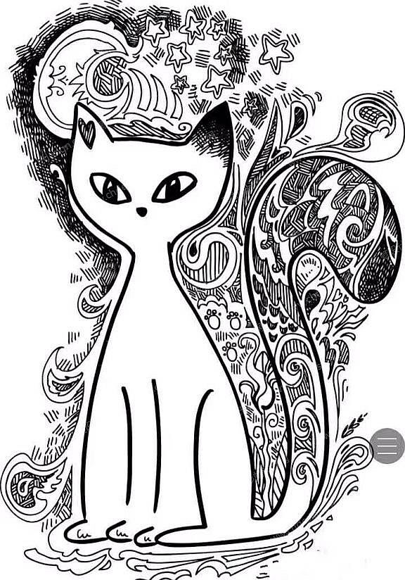 作品名称:猫之舞 作品形态:平面图纸   设计师:一只文艺范的逗比猪 浏