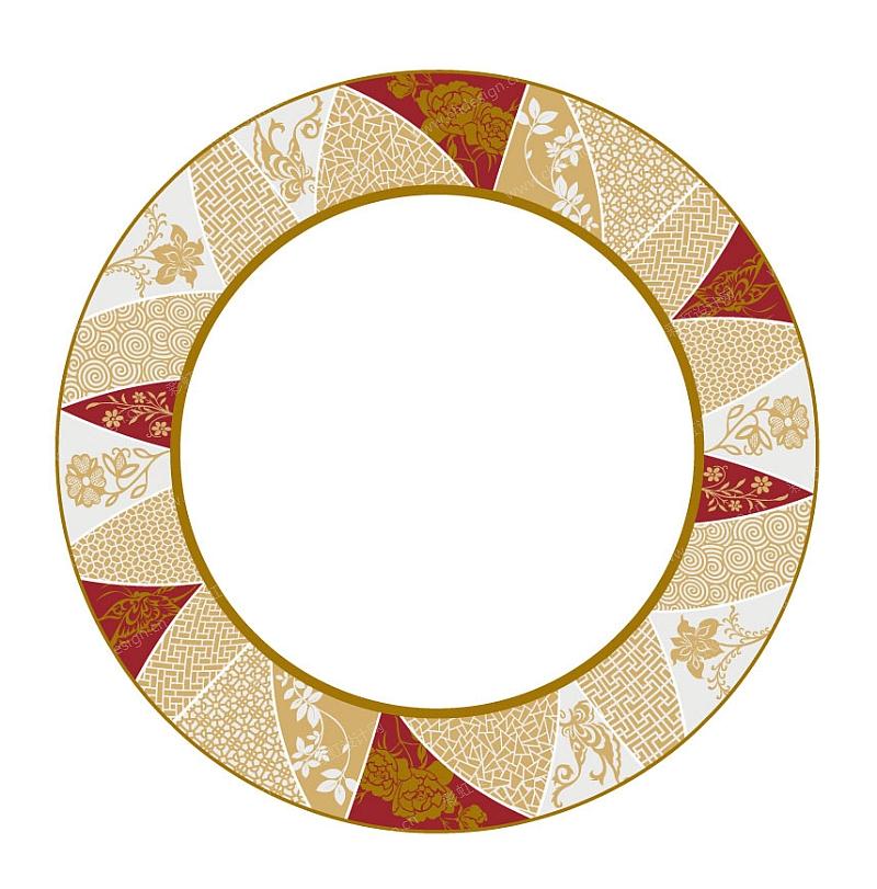 陶瓷花纸设计日式风格花纹图案