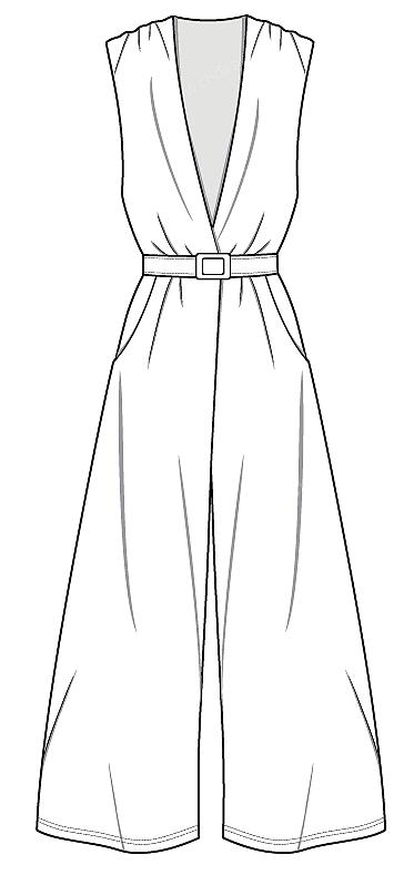 可爱的衣裤简笔画
