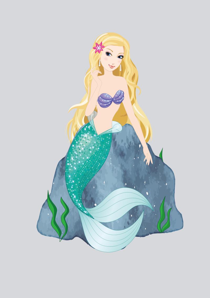 唯美梦幻 可售 ¥320元 作品编号:ch1103708 作品名称:美人鱼摆饰图片