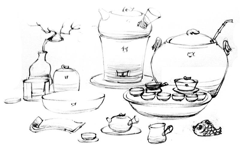 陶瓷茶具造型设计