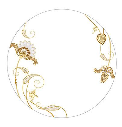 陶瓷花纸欧式花纹图案
