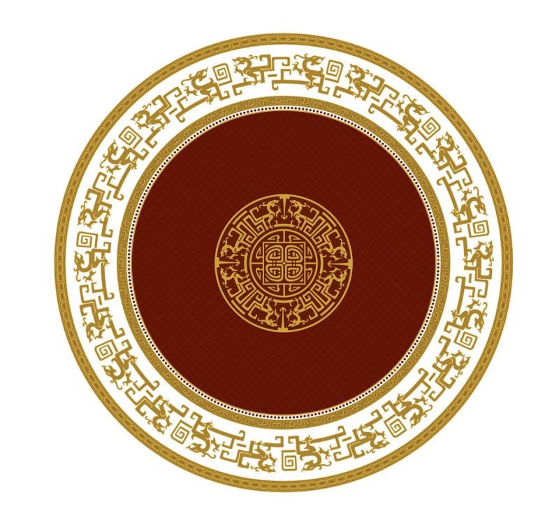 陶瓷花纸中式花纹图案-设计案例_彩虹设计网