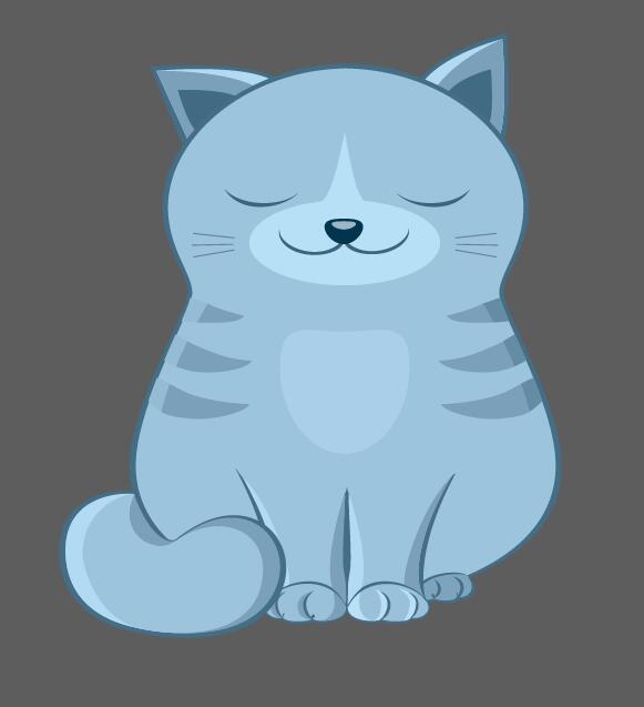 卡通动物抱枕造型-设计案例_彩虹设计网