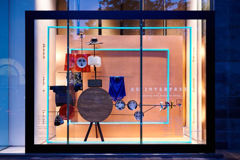 香港连卡佛橱窗设计-设计案例_彩虹设计网