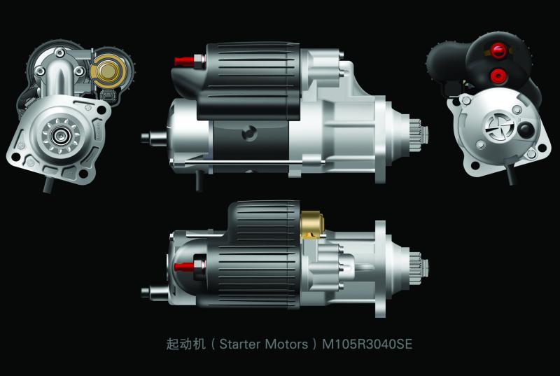 st614型起动机电路