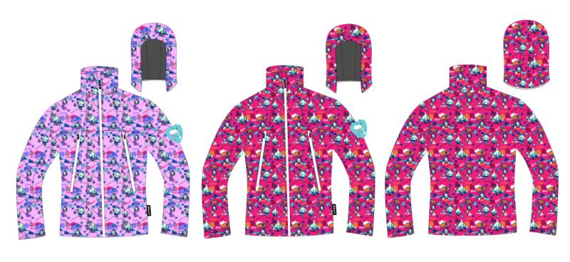 作品编号:ch1145100 作品名称:童装复合风衣 创作时间:2015 作品形态