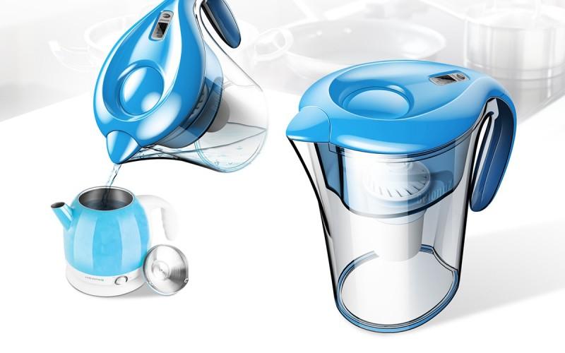 滤水壶设计家居生活产品设计产品外观设计产品结构设计