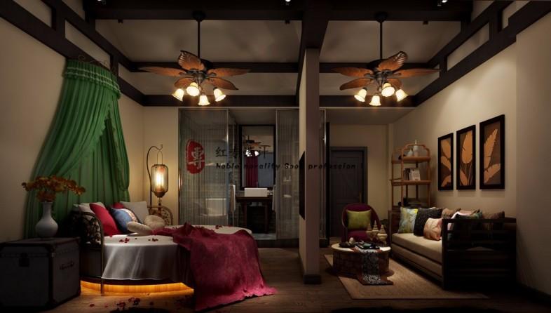 成都度假酒店设计公司|花涧客栈-设计案例_彩虹设计网