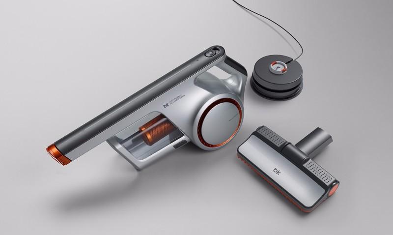 手持真空吸尘器_手持真空吸尘器-设计案例_彩虹设计网