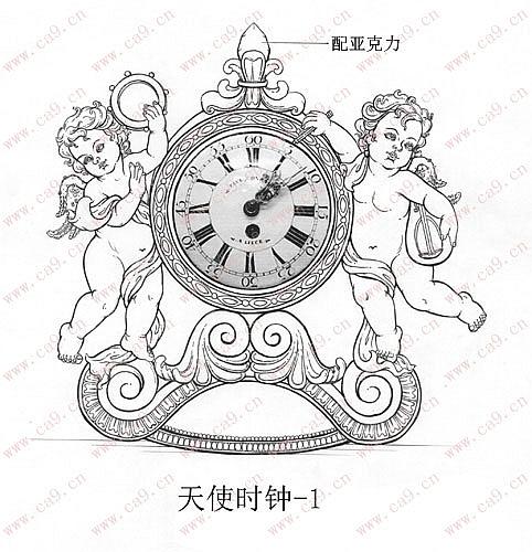 小天使时钟