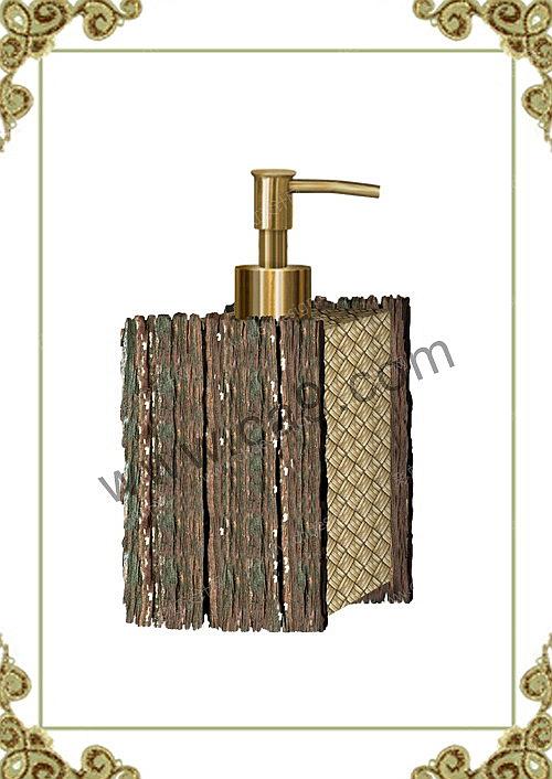 作品名称:卫浴木头纹理