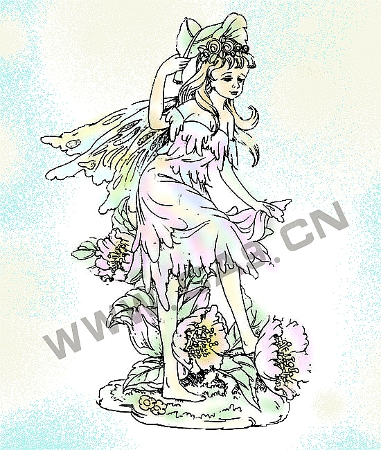 花仙子-设计案例_彩虹设计网