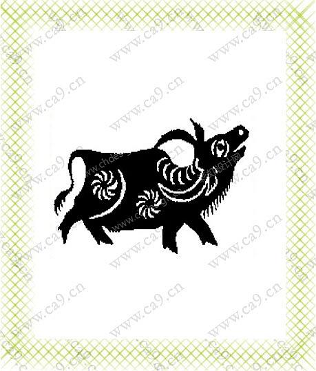 作品名称:黑白动物 创作时间:2006 作品形态:平面图纸   设计师:zsim
