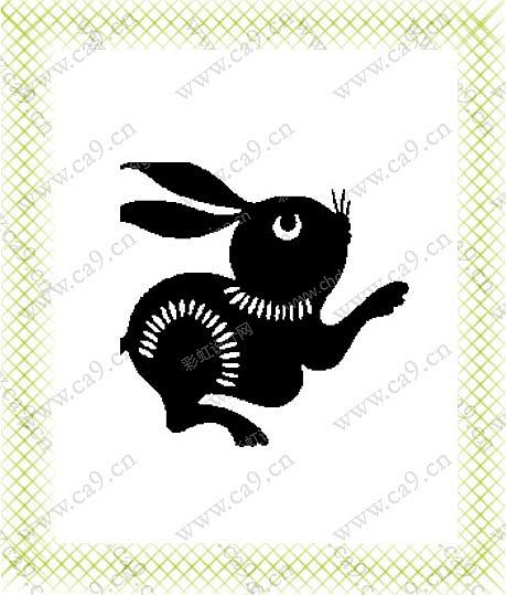 作品名称:黑白动物 创作时间:2006 作品形态:平面图纸   设计师:zsimi