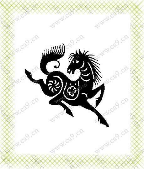 黑白动物-设计案例_彩虹设计网
