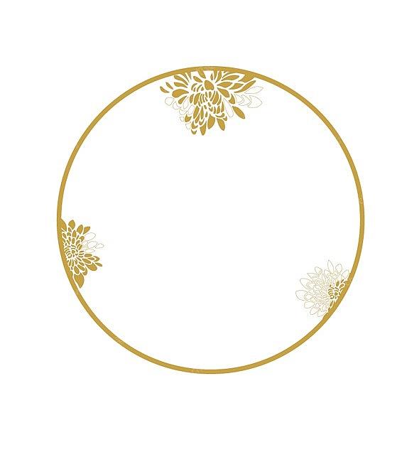 黄金菊浮雕金欧式餐具花纹