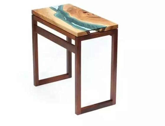 设计界的百搭代表——木头,几乎任何材质都能插上一脚  在树脂与木