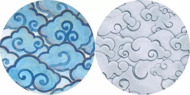 中国传统纹样之 祥云 海浪 吉祥纹图片