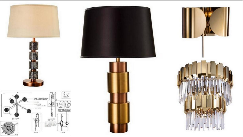 设计师必读 台灯设计师优选  中国,美国 家具,灯具,饰品 木材,板材图片