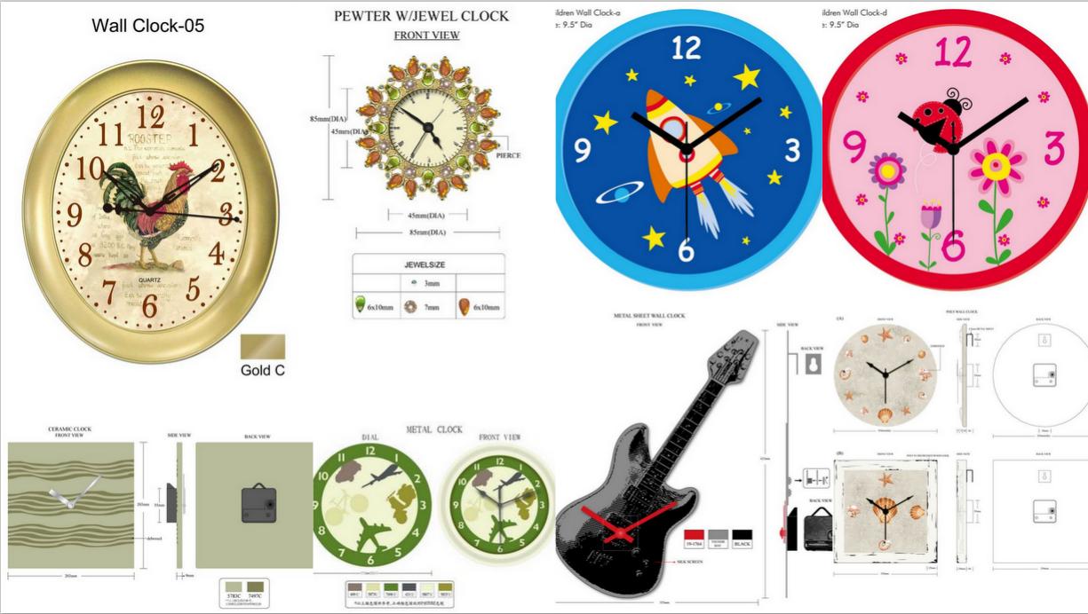 钟表手工制作海底世界